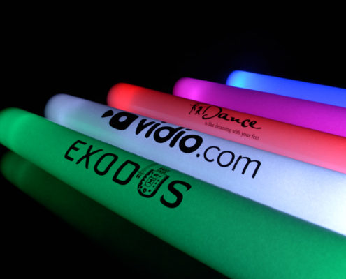 Custom Printed LED Light Foam Stick