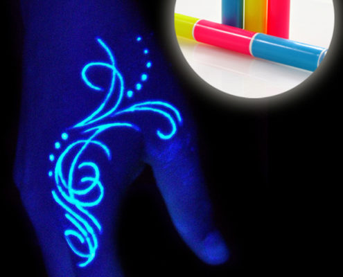UV Temprorary Tattoo Pen